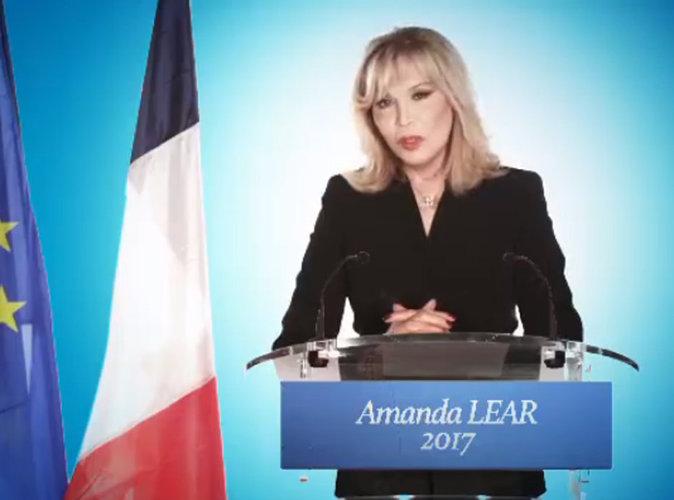 Amanda Lear : candidate aux élections présidentielles de 2017 !