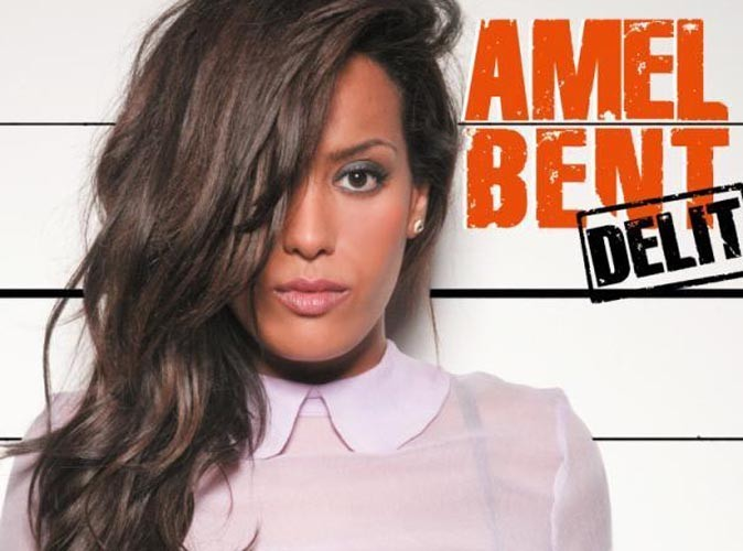 Amel Bent : lingerie apparente sur la pochette de son nouveau single !