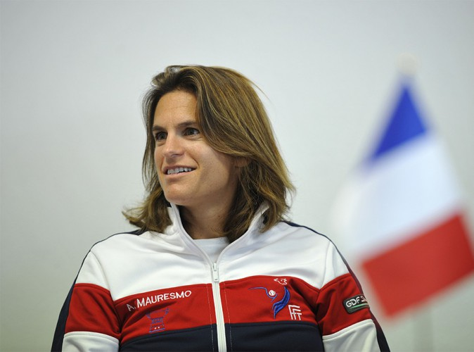 Amélie Mauresmo attend un heureux évènement !