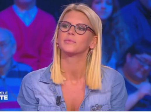 """Amélie Neten :  """"J'espère vous faire chier encore très longtemps à la télé !"""""""