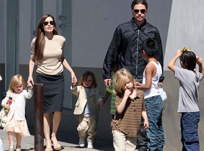 Angelina Jolie : au Touquet avec Brad Pitt et toute leur tribu !