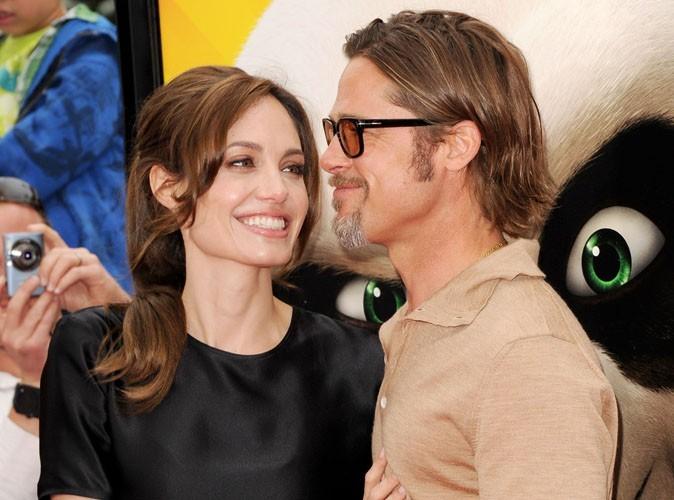 """Angelina Jolie : """"Brad est un vrai homme... Dans tous les sens du terme"""" !"""