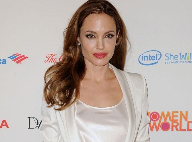 Angelina Jolie : découvrez les photos inédites d'une adolescente pas comme les autres !
