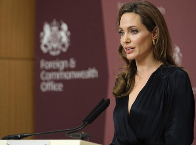 Angelina Jolie donne 100 000 dollars aux réfugiés syriens !