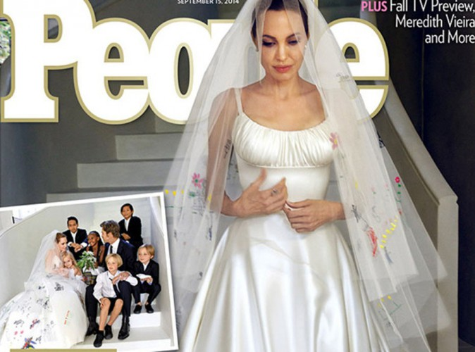 Angelina Jolie : elle a multiplié les hommages à sa mère décédée lors de son mariage avec Brad !