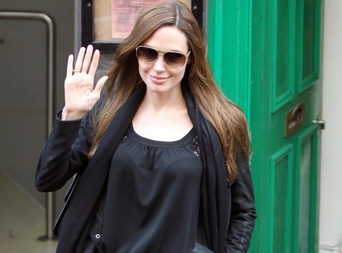 Angelina Jolie : en Libye, pour témoigner de sa solidarité !