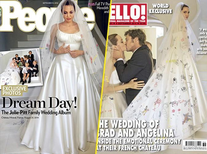 Angelina Jolie et Brad Pitt : d�couvrez les premiers clich�s de leur mariage en France !