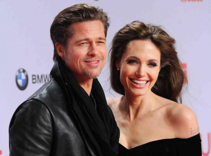 Angelina Jolie et Brad Pitt : ils étaient mariés bien avant cet été !