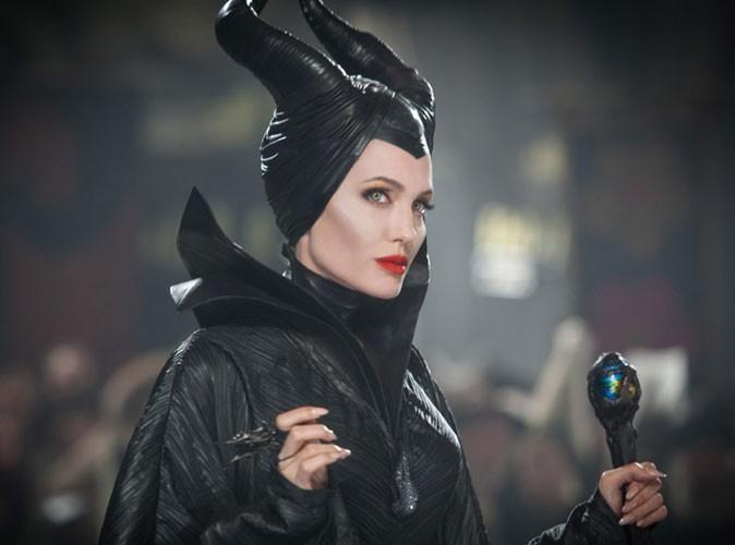 """Angelina Jolie : """"Mon costume de Maléfique a fait pleurer mes enfants"""" !"""