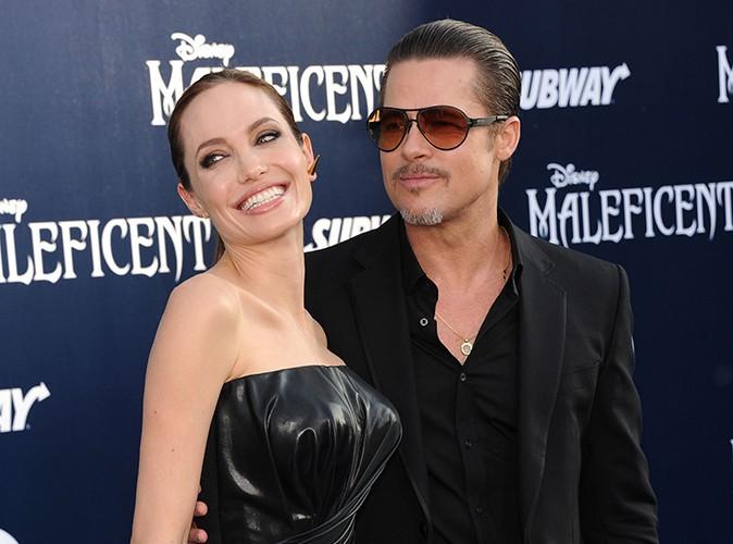 """Angelina Jolie : """"Nous ne prévoyons pas de nous marier tout de suite avec Brad"""""""