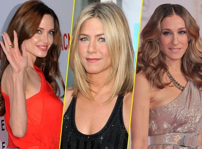 Angelina Jolie, Sarah Jessica Parker, Jennifer Aniston : découvrez qui sont les actrices les mieux payées à Hollywood !