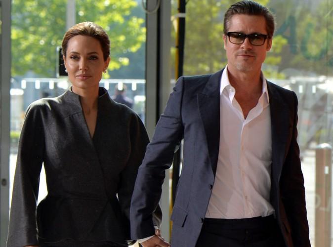 Angelina Jolie : un (petit) cadeau à 250 000 dollars pour Brad Pitt !