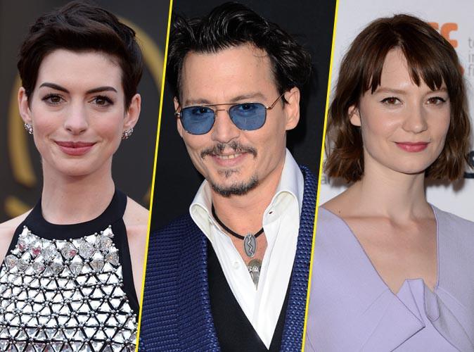 Anne Hathaway, Johnny Depp, Mia Wasikowska : tous sur le tournage de la suite d'Alice au pays des merveilles !
