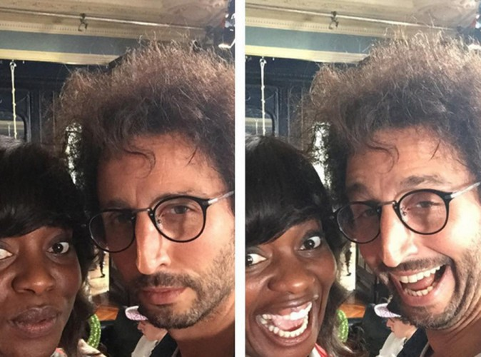 Arié Elmaleh : l'ex de Virginie Ledoyen en plein tournage délirant avec Claudia Tagbo !