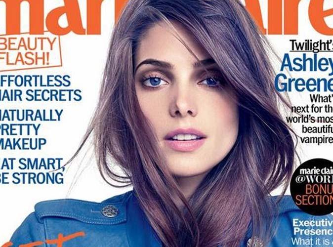 La belle brunette s'épanche dans le magazine marie claire de