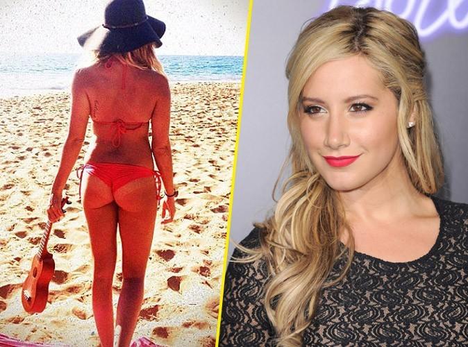 Ashley Tisdale : elle dévoile ses fesses joliment galbées sur Twitter !