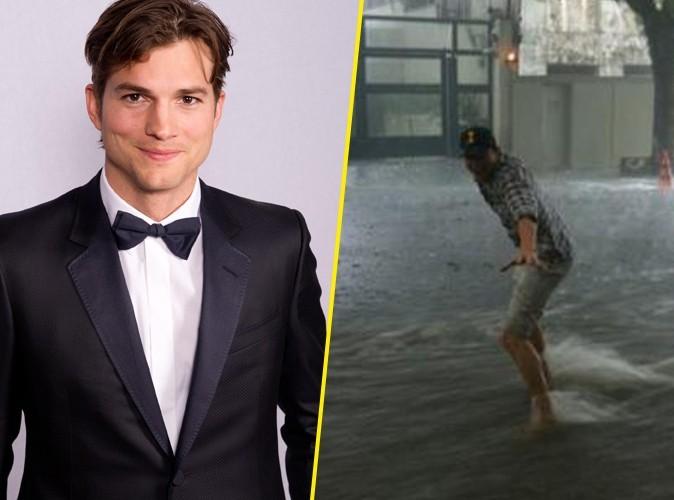 Ashton Kutcher : au Brésil, il surfe sur la vague !