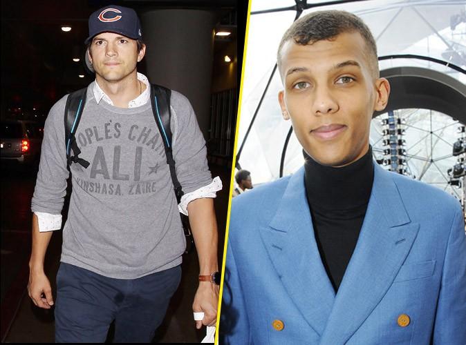 Ashton Kutcher aussi a succombé à Stromae !