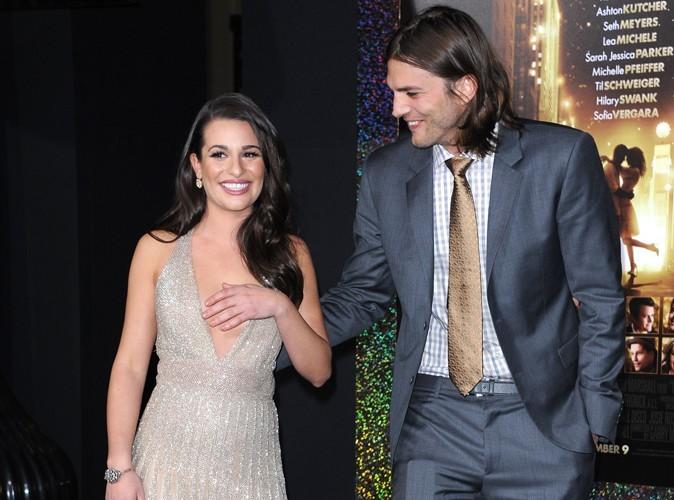Ashton Kutcher : Lea Michele l'invite pour les fêtes !