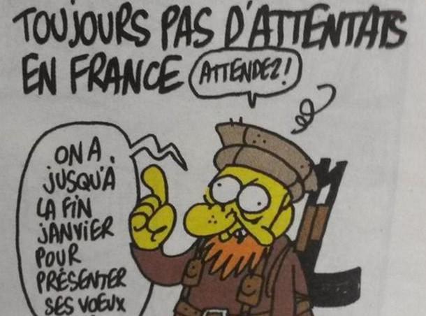 Attentat à Charlie Hebdo : cette semaine, Charb avait publié un dessin prémonitoire...