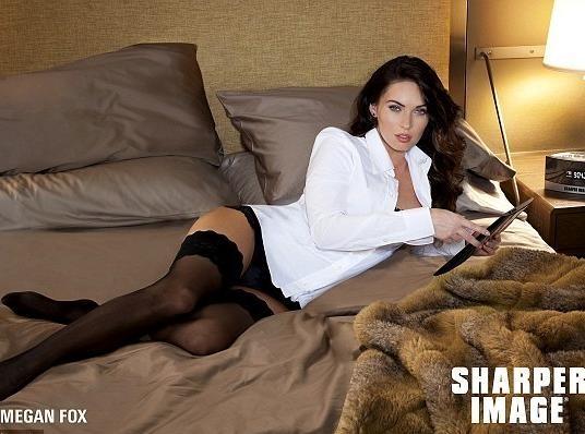 Au lit avec Megan Fox...