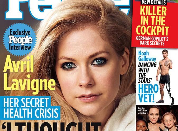 Avril Lavigne : malade, elle a cru mourir !