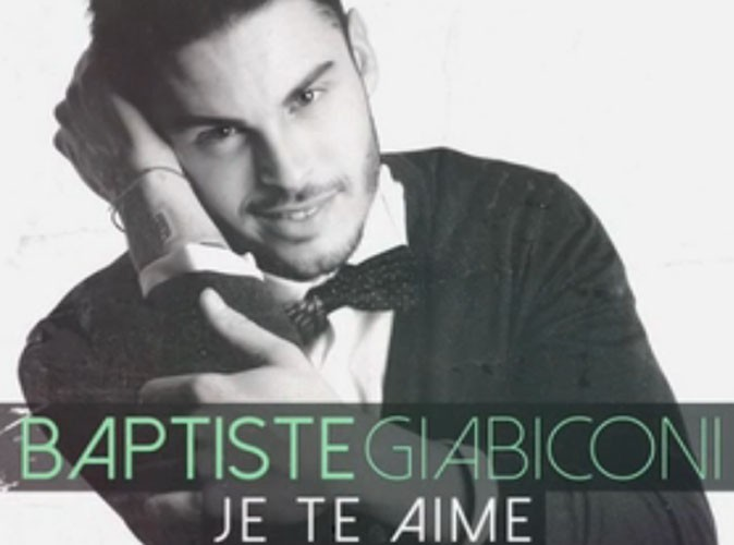 """Baptiste Giabiconi : écoutez sans plus attendre l'intégralité de son nouveau single, """"Je te aime"""" !"""