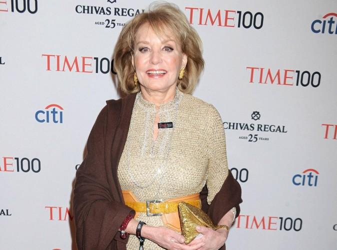 Barbara Walters : la papesse de la télé américaine prend sa retraite !