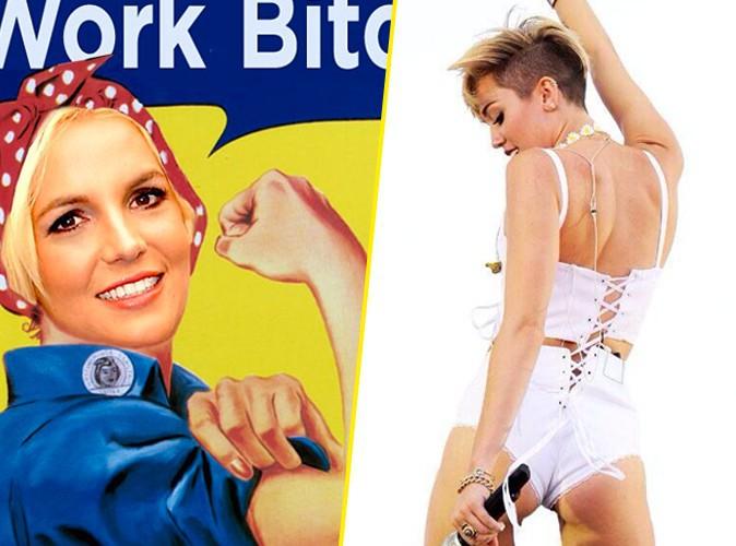 Battle : Britney Spears ou Miley Cyrus : qui est la Reine de la provoc' ?