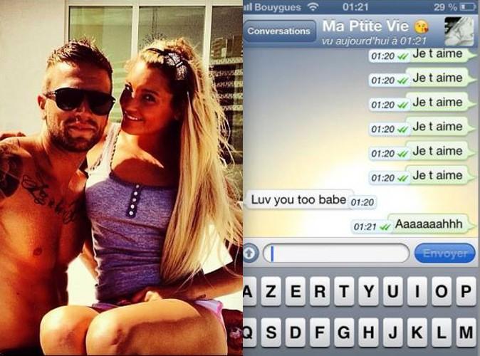 Aurélie : c'est beau l'amour par SMS !