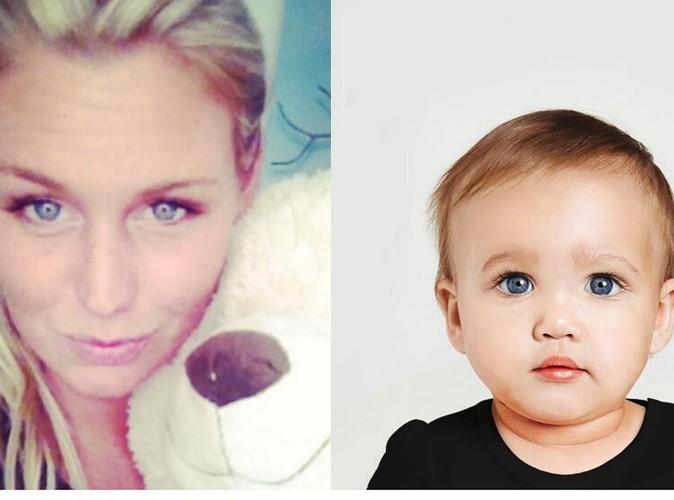 Aurélie Van Daelen : elle fait le bébé !