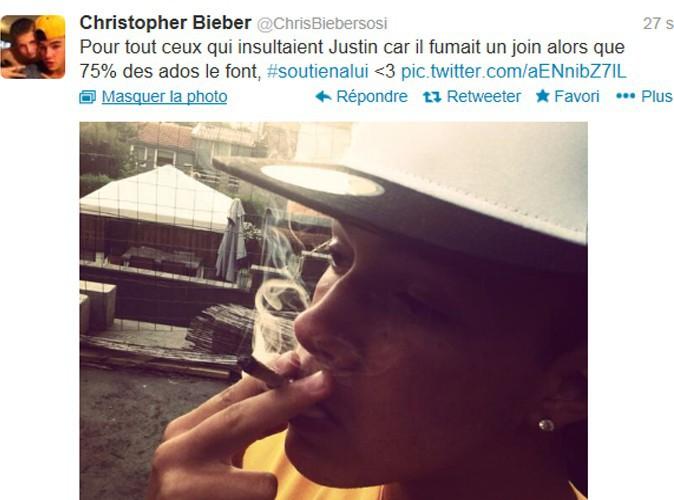 Christopher Bieber : drogué, il a essayé de nous le cacher !