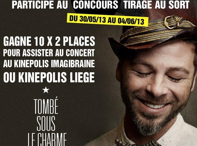 Concours Christophe Maé : remportez des places de concert exclusives !