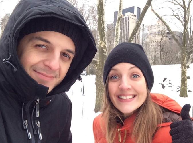 David Antoine : ça caille à Central park !