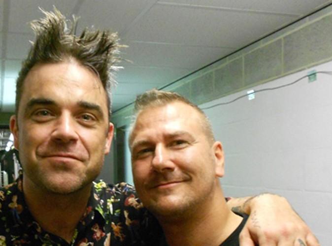 DJ Daddy K et Robbie Williams : copains de cheveux !