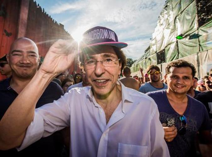 Elio Di Rupo : il fait la fête à Tomorrowland !