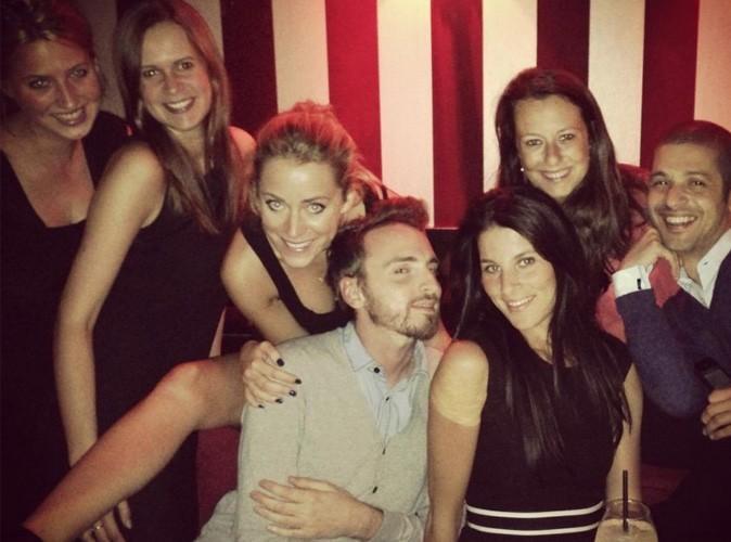 Emilie Dupuis au nouveau Bar Rouge avec ... Christophe Willem !
