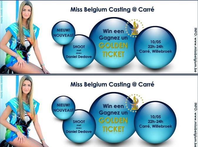 Miss Belgique : le nouveau casting au Carré !