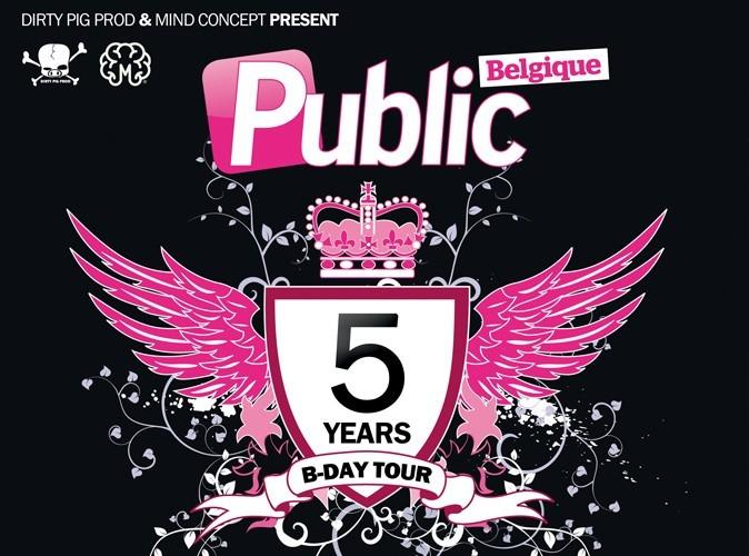 Public Belgique : le 5 years B-Day Tour est lancé !