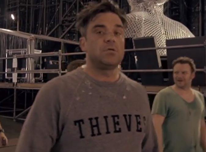 Robbie Williams dévoile sa vie bruxelloise !