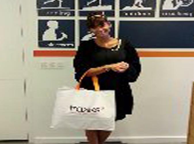 Tatiana Silva : après le coiffeur, la virée shopping !
