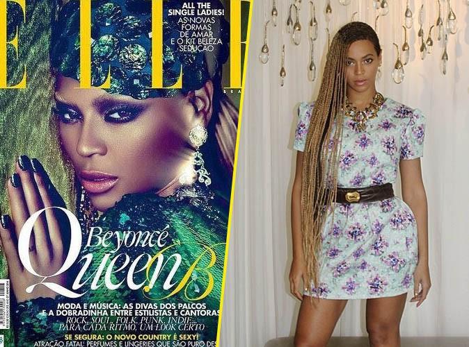 Beyoncé en couverture du Elle Brésil !