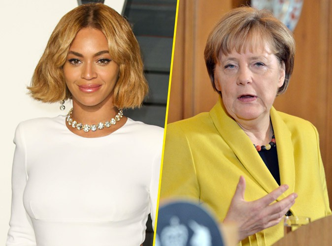 Beyonc� : engag�e, elle �crit � Angela Merkel !