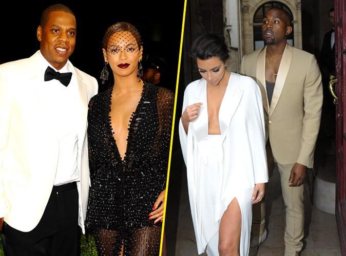 Beyoncé et Jay-Z : ils ont finalement fui le mariage de Kim Kardashian et Kanye West !