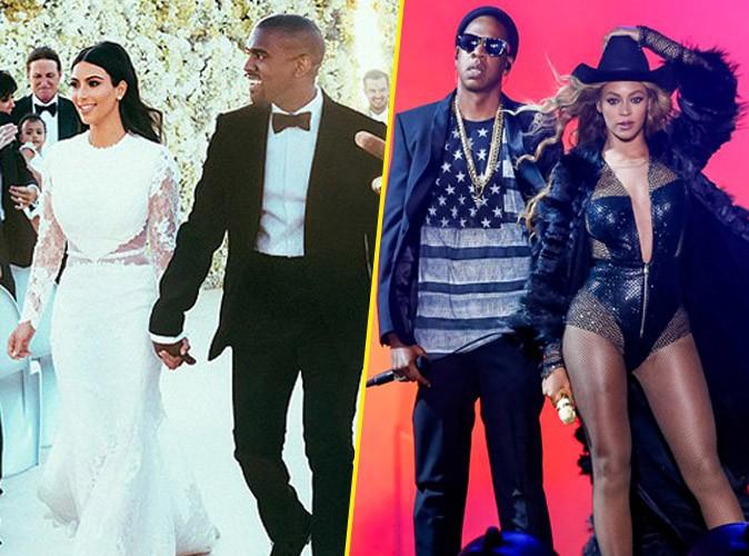 Beyoncé et Jay-Z : pourquoi ils étaient absents au mariage de Kim Kardashian et Kanye West...