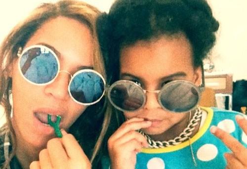 Beyonce fait la belle avec sa fille!