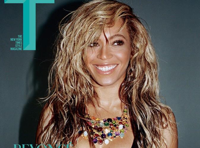 Beyoncé : sexy pour une énième couverture, elle dégaine le décolleté !