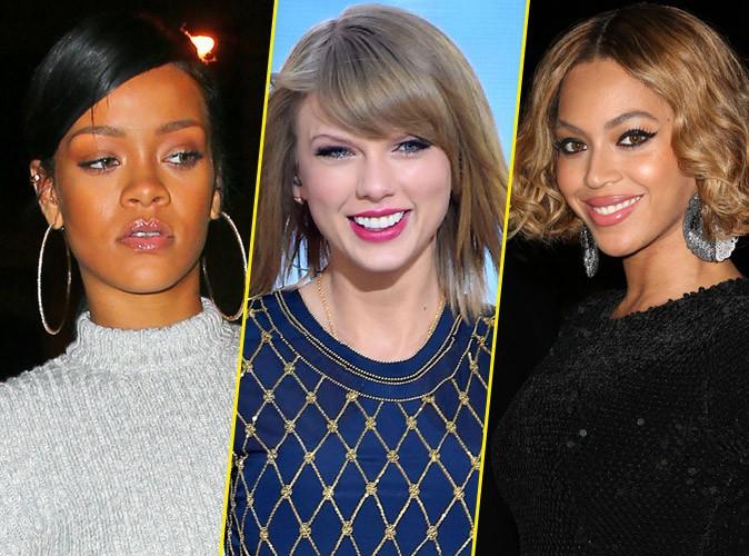 Beyonce, Taylor Swift, Rihanna ... qui p�se le plus lourd ?