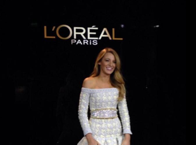 Blake Lively : c'est officiel, elle devient la nouvelle égérie L'Oréal !