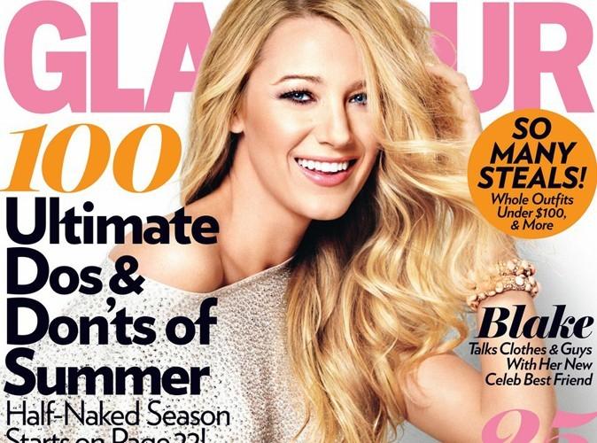 Blake Lively : sublime en couverture de Glamour !
